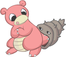 Slowbro by HappyCrumble