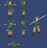 Skyward Sword: Link Reference by ShrubbyNerb