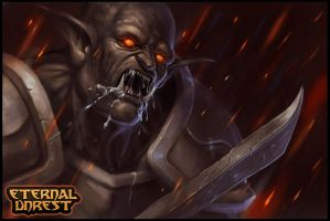 Frenzied Orc - Eternal Unrest .com by RogierB
