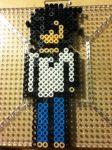 -Perler- Death Note L Lawliet by OtakuLuka