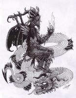 Baal and Leviathan by satanen