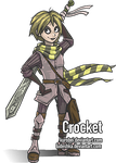 Crocket - At last! by kurobei