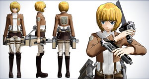Armin Arlet - Shingeki no Kyojin (Attack on Titan) by NipahMMD