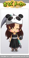 ChibiMaker me by PH-mexicanfangirl17