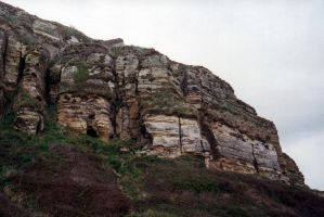 Cliff face by gmtb-stock