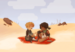 babes in the desert by Aelwen