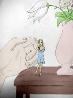 tiny flower by hands0and0girls