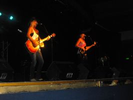The Sunny Cowgirls performing by Shame-On-The-Night
