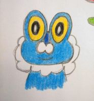 Froakie. by andyburgos