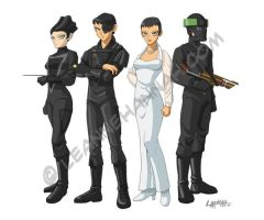 The Federation, Anime Style by stratosmacca