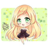 An.chii Chibi Commission by OrbitalSwan
