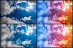 Bokeh Sunburst Sky - Exclusive Stock Pack by somadjinn