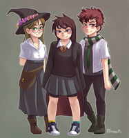 Hogwarts adventures I by AT-Studio
