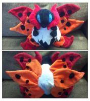 Volcarona plush by LRK-Creations