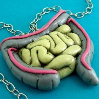Intestines Necklace by beatblack