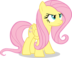 MLP - FiM: Fluttershy No.1 by YellowTDash