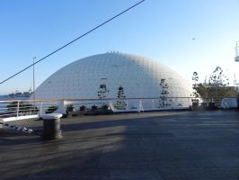 A Giant Geodesic Dome by omega-steam