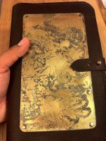 Etched Brass Westeros - Leather Journal by CraftedSteampunk