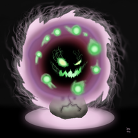 Spiritomb - You scared? by Jero-Draw