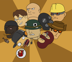 TF2 Floating Head guys by Corpse-Pirate