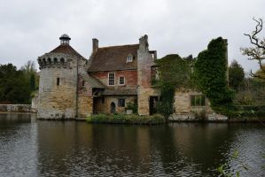 DSC 0033 Scotney Old Castle by wintersmagicstock
