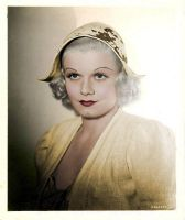Jean Harlow Colorized 20 by ajax1946