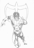 Nightwing-Original by JeanSinclairArts