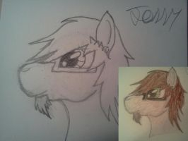 Jonny Hooves himself :headshot: by Earth-pony-mischief