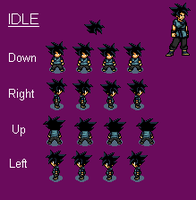 Kai Overworld Basic Sprites (RPG - No Name Yet) by sonicthehedgehog19