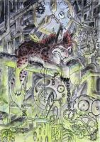 ACEO Gearwheels by Sysirauta