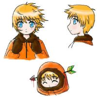 Kenny sketches by LazyOrca