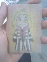 -ACEO- I Dare You To Say it Three Times... by ErythraPyralis