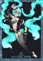 Hatune Miku APPEND by Chao-Illustrations