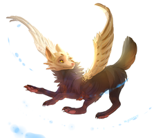 FLYING DOG by arucarrd