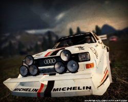 Audi Quattro - The Rally King by MarineACU