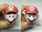 Papercraft Mario test 2 by ninjatoespapercraft