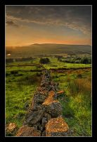 Sunset over Longridge Fell by Pistolpete2007