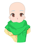 Anime Base 1: Look at dat scarf by RythmColors