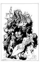 Man-Thing by aaronlopresti
