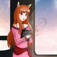 Holo in the Sky Commission by MulberryDreamer