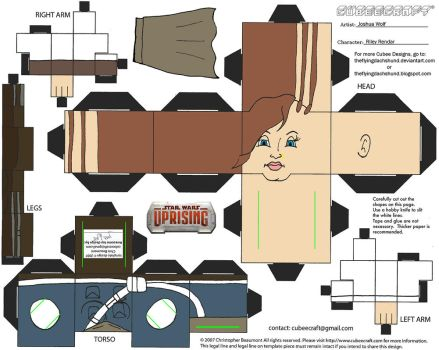 SW16: Riley Rendar Cubee by TheFlyingDachshund