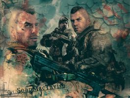 CoD:MW2 Cpt. MacTavish by bostonriots