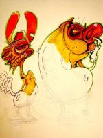 Ren And Stimpy by shoot-up