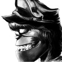 Murdoc Niccals by boookly