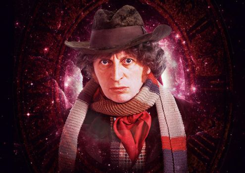 Doctor Who - Fourth Doctor - Tom Baker by Skrillexia-TF