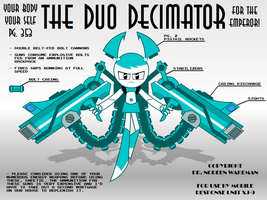 The Duo Decimator by MLaaTRScribbles