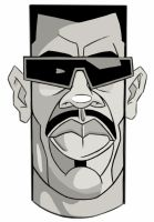 Blade - caricature by EXIT1979