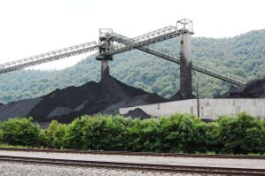 coal mine by MLeighS