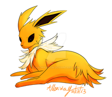 Jolteon by Hackwolfin