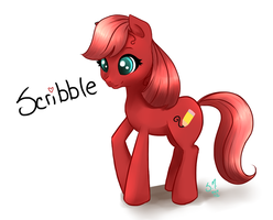 My Little Scribble by StarshineBeast
